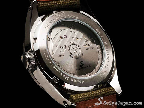 SeiyaJapan Origial Watch Automatic A167-B(Dial Type B)