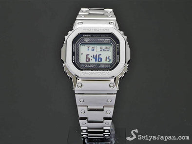 CASIO G shock GMW-B5000D-1JF Full Metal Stainless Steel / with Bluetooth® - seiyajapan.com