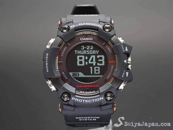 G-Shock RANGEMAN GPR-B1000-1JR Made in Japan - seiyajapan.com