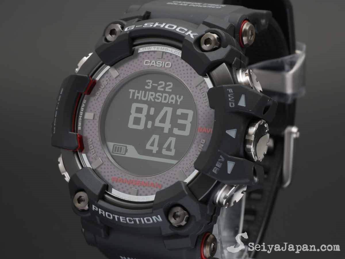 lowest price 43d49 3dc77 G-Shock RANGEMAN GPR-B1000-1JR Made in Japan