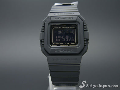 CASIO G shock GW-5510-1BJF MULTI BAND 6 - seiyajapan.com - 1