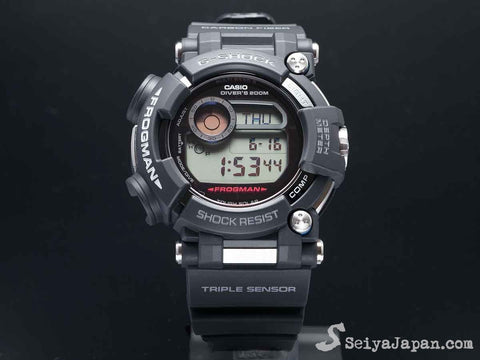 G-Shock FROGMAN with Water Depth Sensor GWF-D1000-1JF - seiyajapan.com - 1