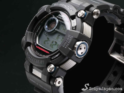 G-Shock FROGMAN with Water Depth Sensor GWF-D1000-1JF - seiyajapan.com - 3