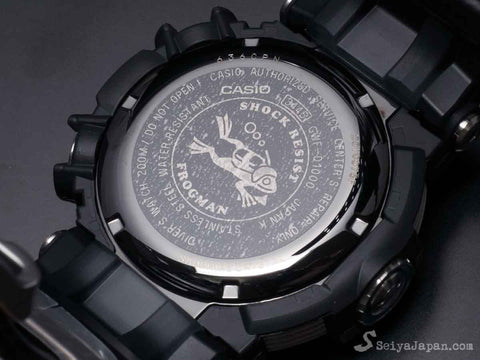 G-Shock FROGMAN with Water Depth Sensor GWF-D1000-1JF - seiyajapan.com - 5