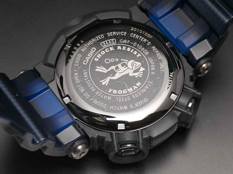 G-Shock FROGMAN with Water Depth Sensor GWF-D1000B-1JF - seiyajapan.com - 6