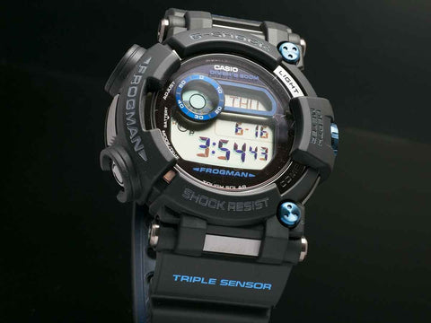 G-Shock FROGMAN with Water Depth Sensor GWF-D1000B-1JF - seiyajapan.com - 2