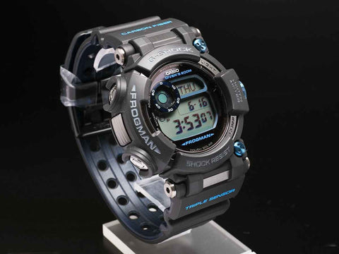 G-Shock FROGMAN with Water Depth Sensor GWF-D1000B-1JF - seiyajapan.com - 3