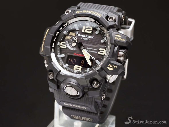 CASIO  GWG-1000-1AJF/ GWG-1000-1A MUDMASTER Made in Japan - seiyajapan.com