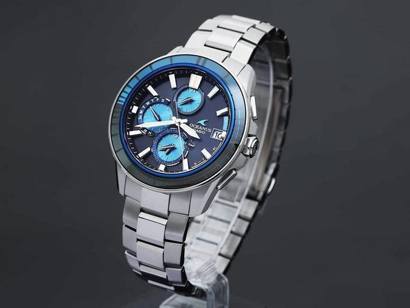 CASIO OCEANUS Manta OCW-S4000D-1AJF Limited edition 3000pcs  / with Bluetooth® - seiyajapan.com