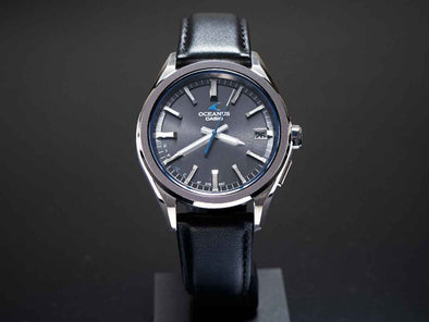"CASIO OCEANUS OCW-T200SCE-8AJR ""Dark Gray""  Made in Japan"
