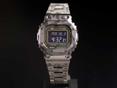 G shock GMW-B5000TCM-1JR Full Metal Titanium / with Bluetooth® - seiyajapan.com