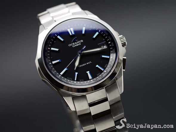 CASIO OCEANUS OCW-S100-1AJF Made in Japan - seiyajapan.com