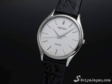 "SEIKO Dolce High Accuracy Quartz SACM171 ""10 sec/yr"" Made in Japan for Men - seiyajapan.com"