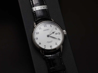 "SEIKO AUTOMATIC PRESAGE SARX027 ""ENAMELED DIAL Made in Japan - seiyajapan.com"