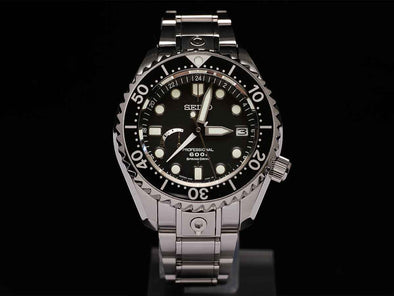 SEIKO Marinemaster Professional 600M Diver Springdrive GMT SBDB011 Made in Japan - seiyajapan.com