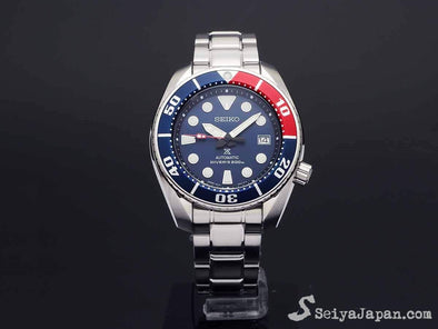 SEIKO Prospex 200M Diver Automatic SBDC057 Pepsi Color Made in Japan - seiyajapan.com