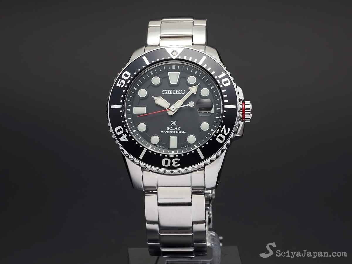 huge discount 83437 8e4d1 SEIKO Prospex 200M Diver Solar SBDJ017 Made in Japan