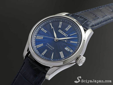 SEIKO AUTOMATIC PRESAGE SARX059 The SHIPPO ENAMEL Made in Japan Limited Edition - seiyajapan.com