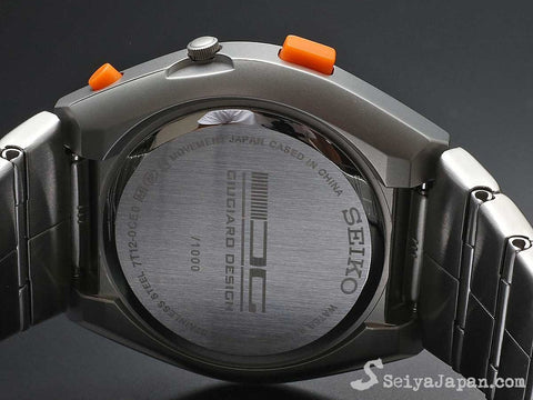 SEIKO×GIUGIARO DESIGN SCED057 Limited Edition for Motorcycle riders