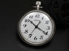 SEIKO RAIL ROAD POCKET WATCH QUARTZ SVBR003 - seiyajapan.com - 1