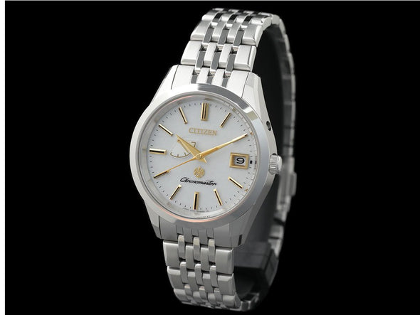 THE CITIZEN Eco-Drive AQ1060-56W Japanese traditional paper dial Limited Edition Made in Japan - seiyajapan.com