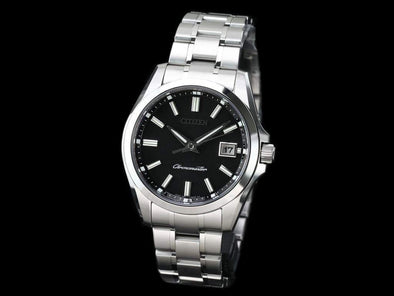THE CITIZEN Eco-Drive AQ4030-51E / Japanese traditional paper dial Made in Japan - seiyajapan.com