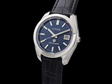 The Citizen Eco-Drive Aq4050-02L Limited Edition Made In Japan Solar-Quartz