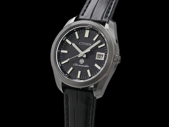 The Citizen Eco-Drive Aq4054-01E Limited Edition Made In Japan Solar-Quartz