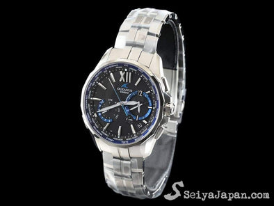 Casio Oceanus Manta Ocw-S3400-1Ajf Made In Japan Radio Wave