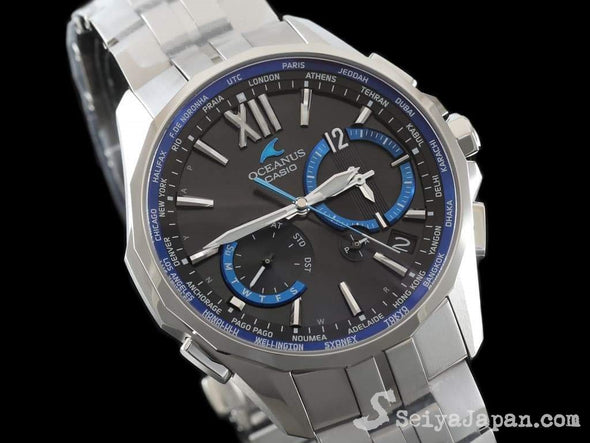 CASIO OCEANUS Manta OCW-S3400-1AJF  Made in Japan - seiyajapan.com