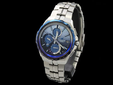 Casio Oceanus Manta Japan Indigo Limited Ocw-S5000Ap-2Ajf Made In Radio Wave
