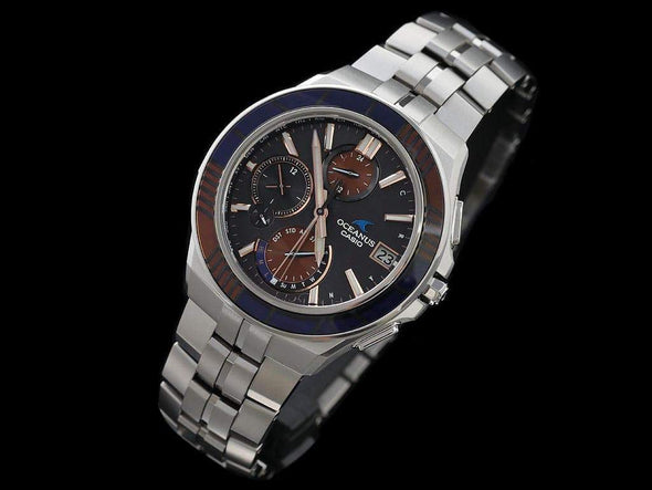 CASIO OCEANUS Manta OCW-S5000D-1AJF EDO-KIRIKO Limited edition / with Bluetooth® - seiyajapan.com