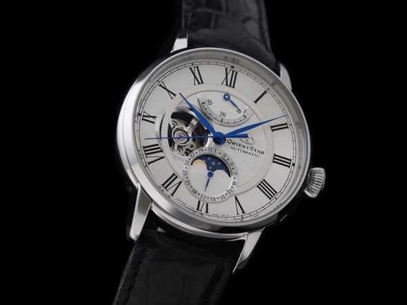 ORIENT OrientStar Mechanical Moon Phase RK-AM0001S Made in Japan - seiyajapan.com
