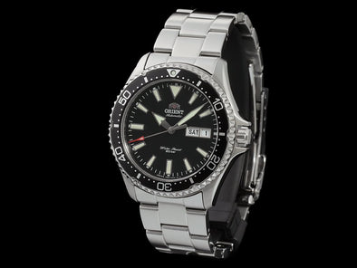 "ORIENT Sports 200M Diver RN-AA0001B  ""Kamasu"" Made in Japan"