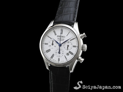 "SEIKO AUTOMATIC CHRONOGRAPH PRESAGE SARK013 ""ENAMELED DIAL"" Made in Japan - seiyajapan.com"