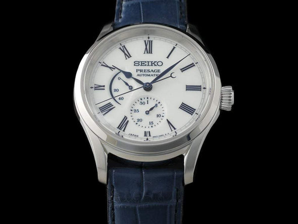 Seiko Automatic Presage Sarw053 Limited Edition Arita Porcelain Dial Made In Japan Automatic