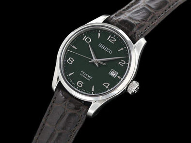 "SEIKO AUTOMATIC PRESAGE SARX063 ""GREEN ENAMELED DIAL"" Limited Edition Made in Japan"