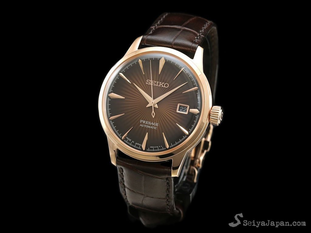 SEIKO AUTOMATIC PRESAGE SARY128 Made in Japan