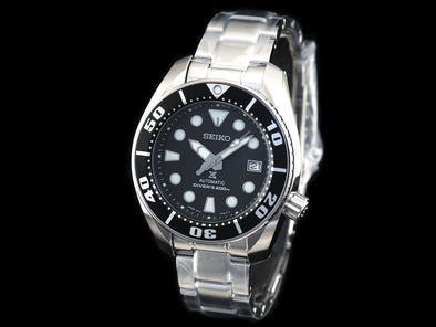 SEIKO Prospex 200M Diver Automatic SBDC031 Black Made in Japan - seiyajapan.com