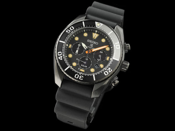 Seiko Prospex 200M Diver Solar Chronograph SBDL065 Limited Edition Made in Japan - seiyajapan.com