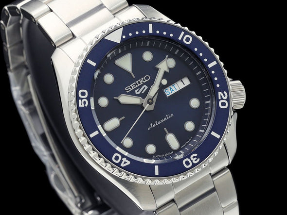 SEIKO 5 Sports Automatic  SBSA001 Made in Japan