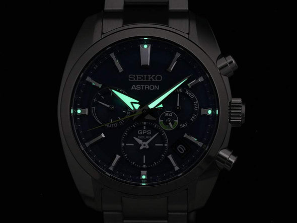 Seiko Astron Gps Solar Dual Time Sbxc055 Japan Collection 2020 Limited Edition