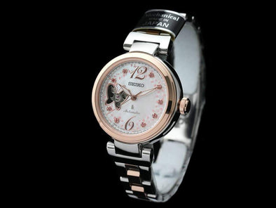 SEIKO LUKIA Automatic SSVM050 SWAROVSKI® Limited Edition for  SAKURA Blooming - seiyajapan.com