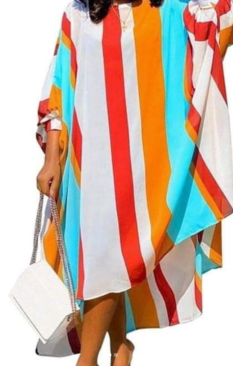 Moroccan Loose Fit Tunic Dress