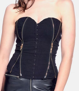 She Is All That Bustier Top