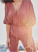 City Girl V-Neck Jumpsuit