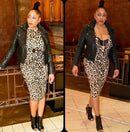 Lalah Leopard Dress
