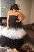 Holiday Layers of Tulle Black and White Dress, $62