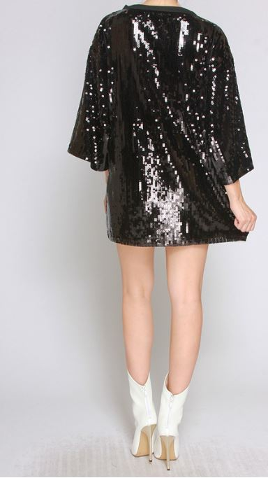 Last But Well Dressed Sequin Dress