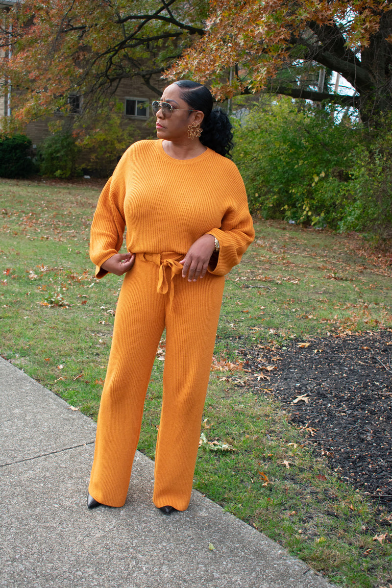 Comfy and Stylish 2pc Sweater Set